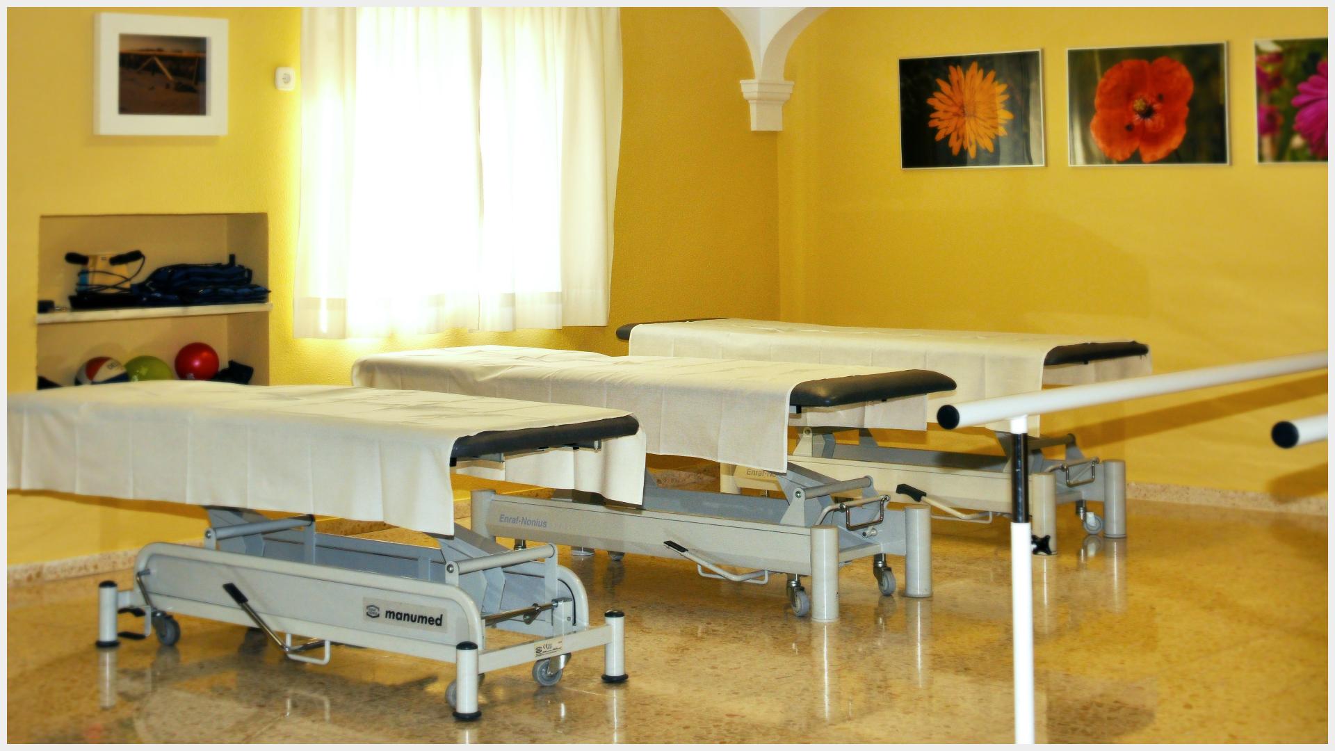 Espacios diáfanos con varios puntos de tratamiento por toda la sala.