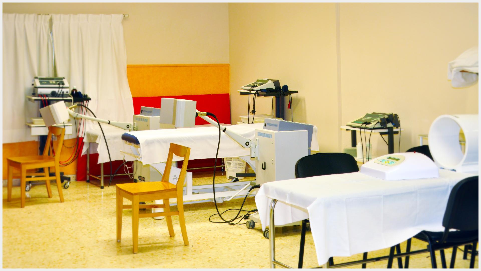 Disponemos de la mejor maquinaria para rehabilitar todo tipo de lesiones.